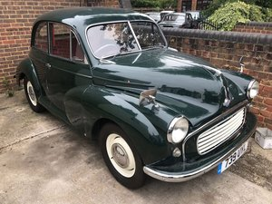 1955 Morris Minor: 16 Feb 2019 For Sale by Auction