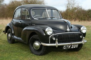 1954 Morris Minor Split Screen SOLD