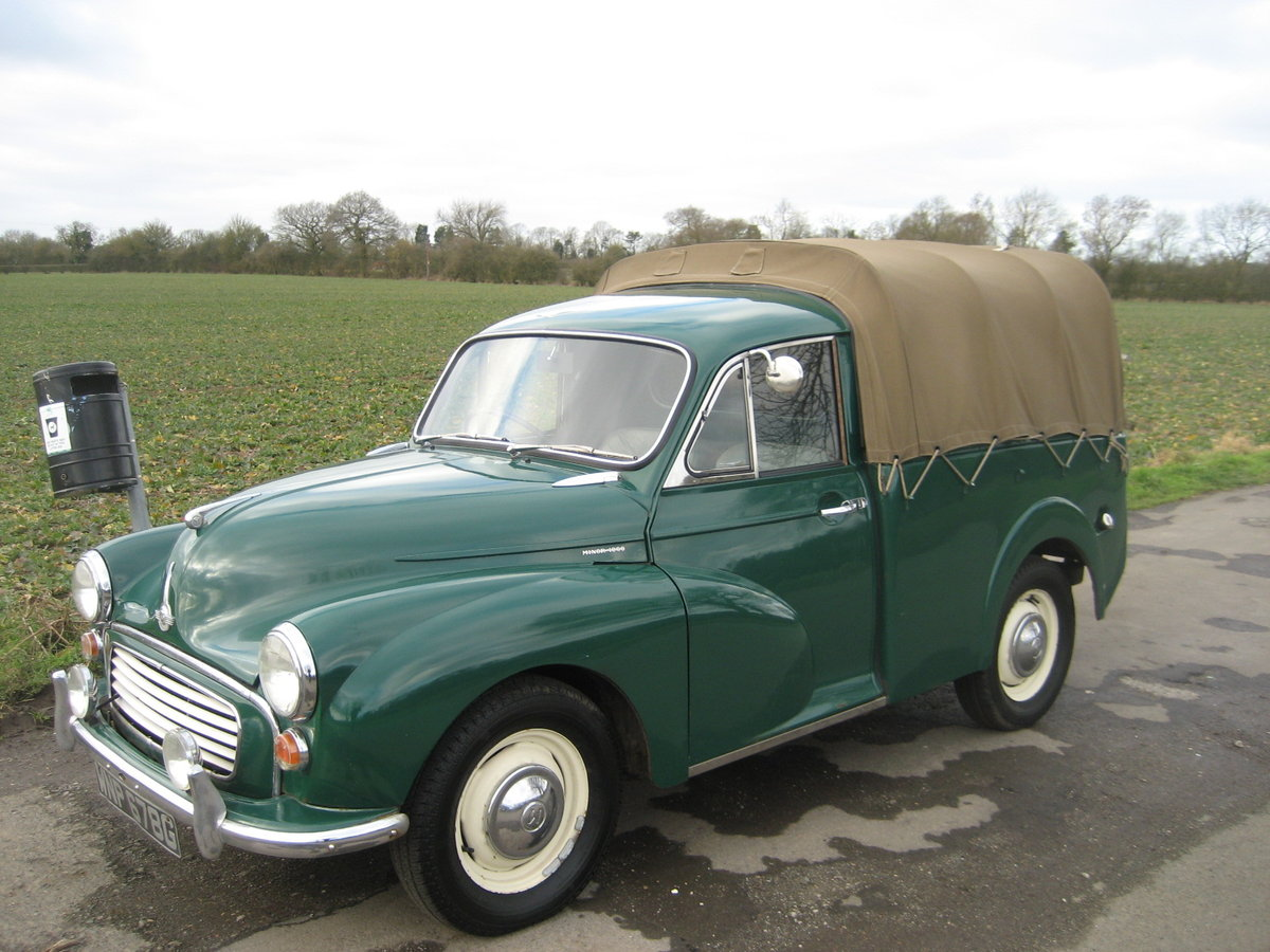 1969 Morris Minor 1000 Pick Up  SOLD (picture 1 of 6)
