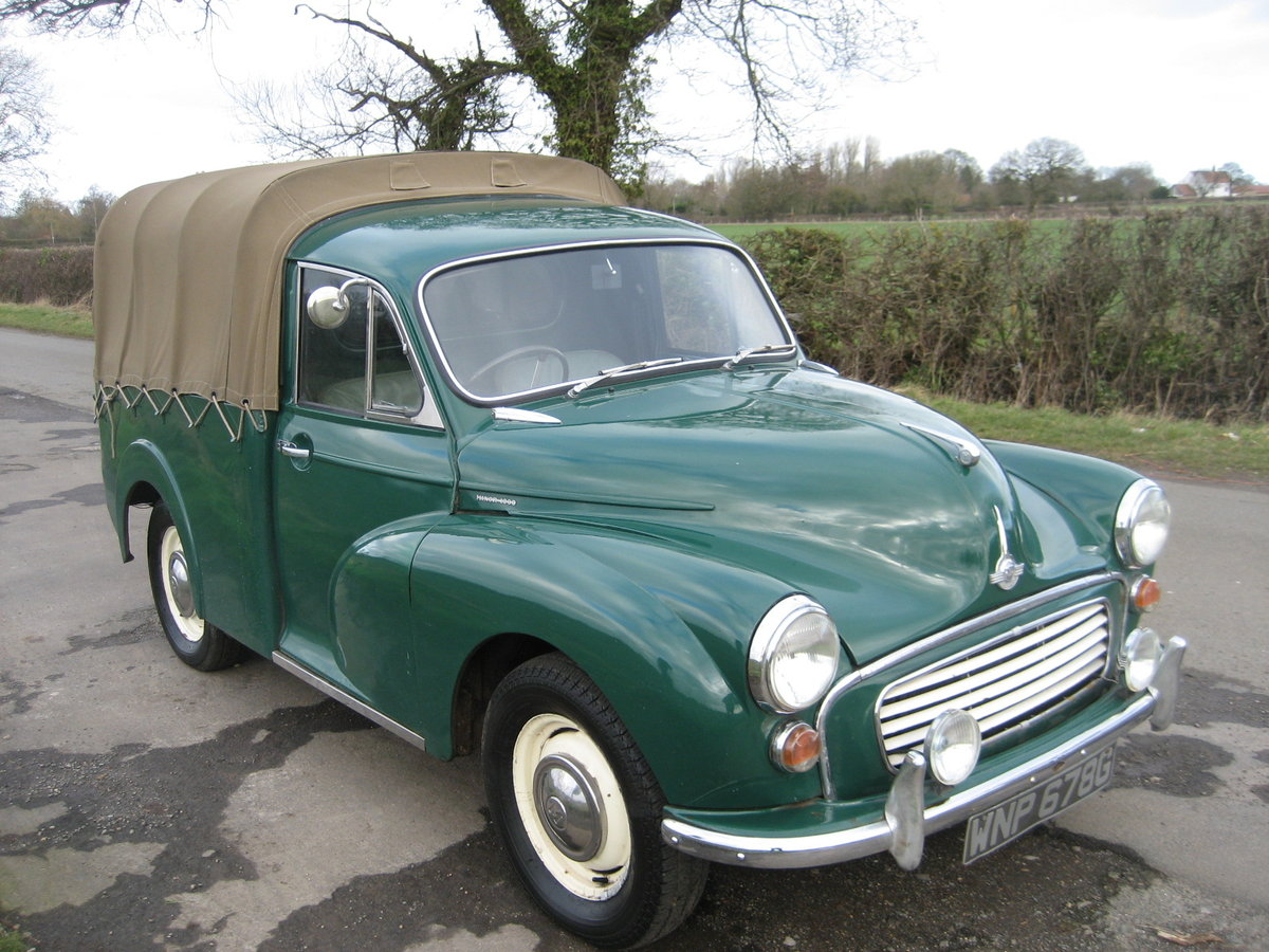 1969 Morris Minor 1000 Pick Up  SOLD (picture 2 of 6)
