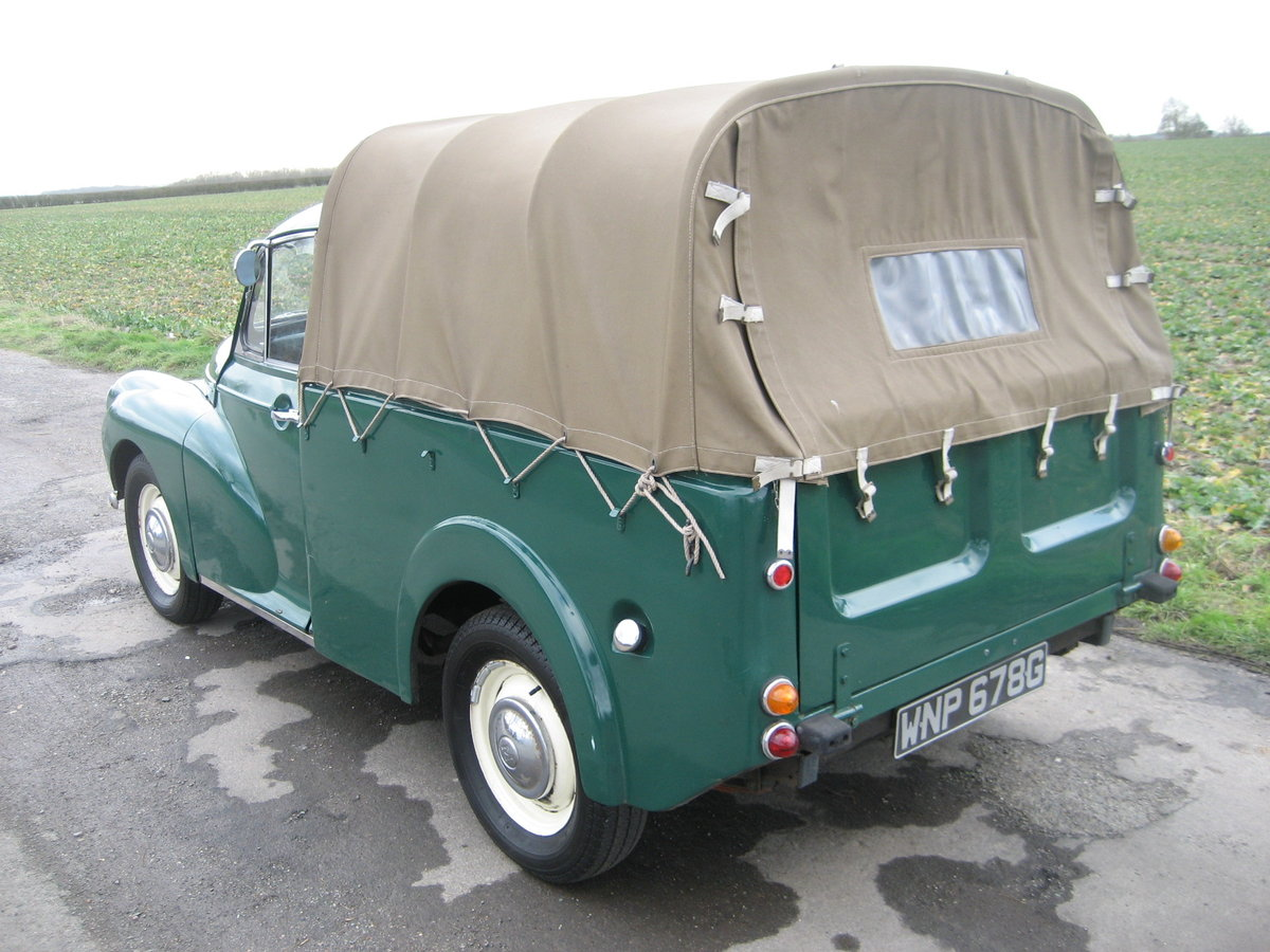 1969 Morris Minor 1000 Pick Up  SOLD (picture 3 of 6)
