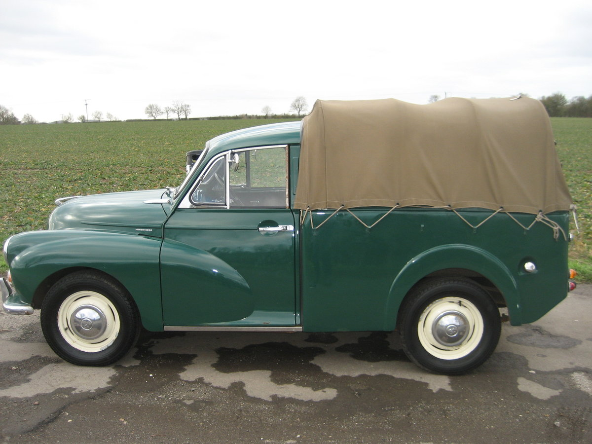 1969 Morris Minor 1000 Pick Up  SOLD (picture 4 of 6)