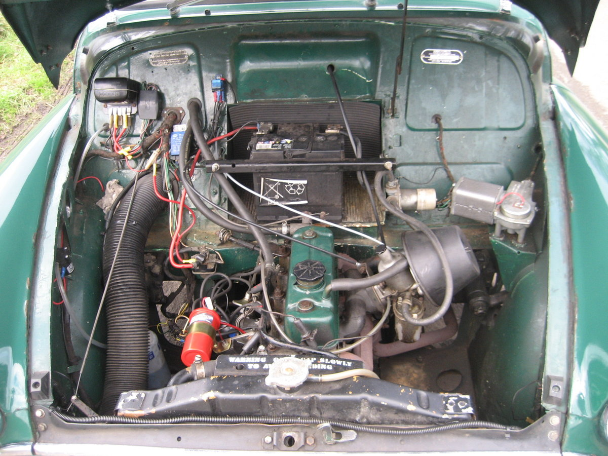 1969 Morris Minor 1000 Pick Up  SOLD (picture 5 of 6)
