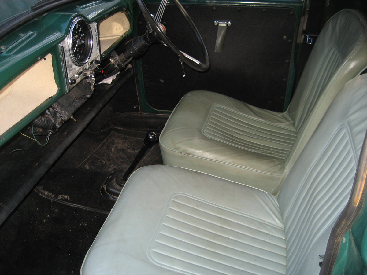 1969 Morris Minor 1000 Pick Up  SOLD (picture 6 of 6)