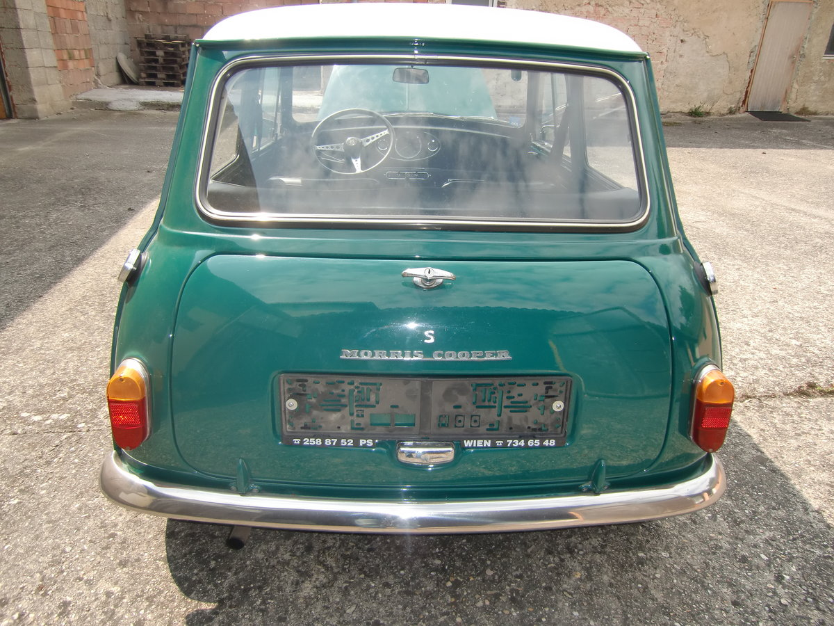 Mini Cooper S Mk1, 1964 LHD, 3 owners For Sale (picture 4 of 6)