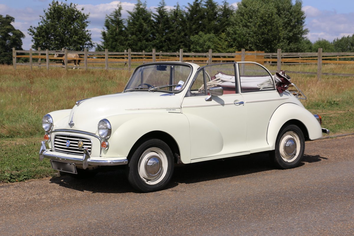 1963 Morris Minor for self drive hire For Hire (picture 1 of 5)