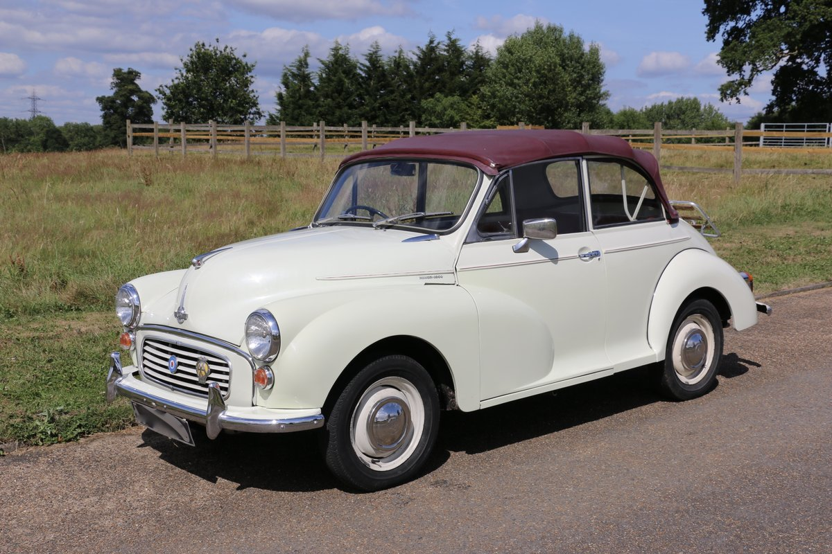 1963 Morris Minor for self drive hire For Hire (picture 5 of 5)