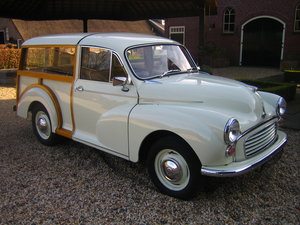1968 Morris Minor Traveller LHD Perfect condition For Sale