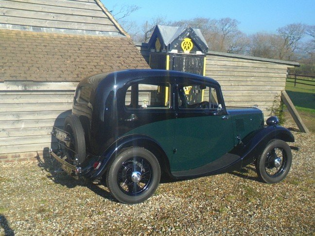 1937 Morris Eight Series 1 Two Door Saloon. For Sale (picture 6 of 6)