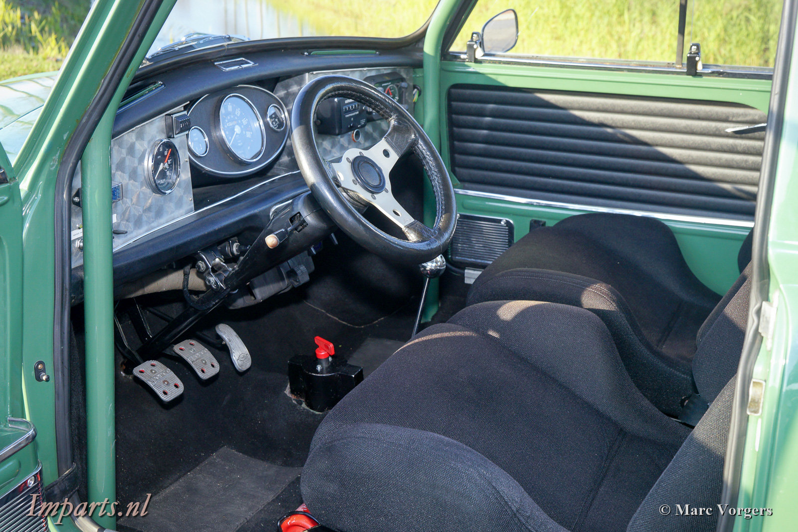 1968 Excellent Morris Mini Cooper Mk2 LHD For Sale (picture 2 of 6)