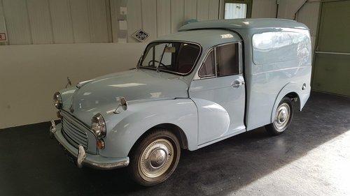 1967 Morris Minor Van - Fully rebuilt For Sale