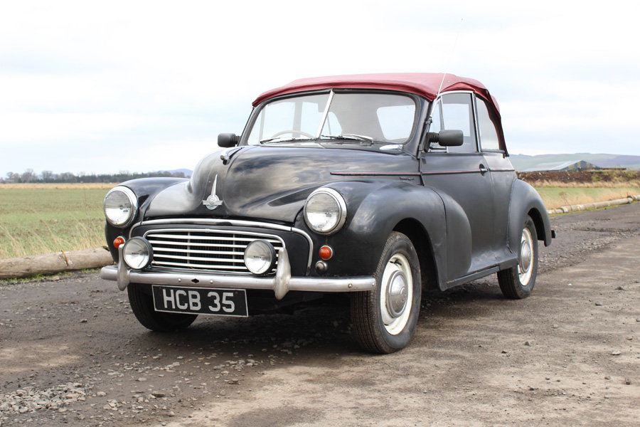 1956 Morris Minor For Sale by Public auction 23rd February SOLD by Auction (picture 1 of 6)