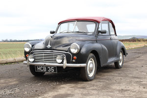 1956 Morris Minor For Sale by Public auction 23rd February SOLD by Auction