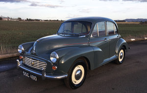 1958 Morris Minor For Sale by Auction 23rd February SOLD by Auction