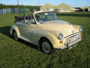 1966 MORRIS MINOR CONVERTIBLE CONVERSION.  SOLD