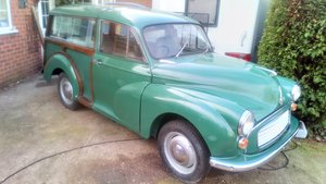 1965 Traveller restored throughout, glossed underneath. For Sale