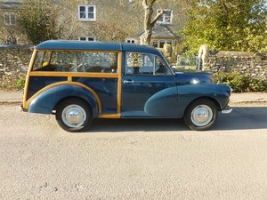 Picture of MORRIS MINOR 1000 TRAVELLER 1968.  SOLD