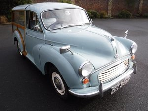 **MARCH AUCTION**1969 Morris Minor Traveller SOLD by Auction