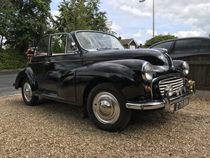 1957 Morris Minor Convertible (original) 1275cc For Sale