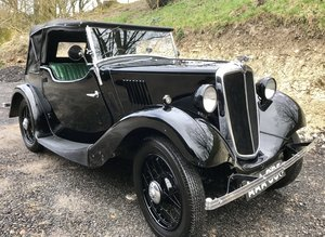 1935 Morris Eight Two Seat Tourer - 2 owners from new SOLD