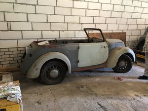 MORRIS EIGHT CONVERTIBLE 1937 For Sale