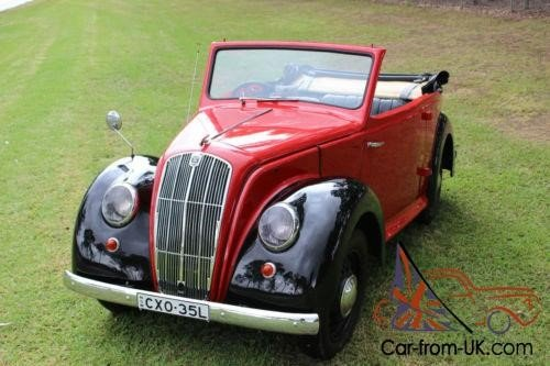 MORRIS EIGHT CONVERTIBLE 1937 For Sale (picture 5 of 5)