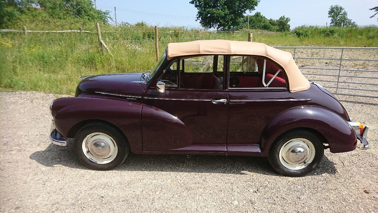 1967 Morris Minor Non Genuine Convertible For Sale (picture 1 of 6)
