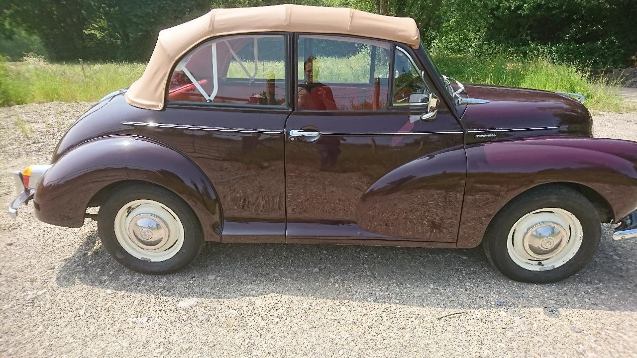1967 Morris Minor Non Genuine Convertible For Sale (picture 5 of 6)
