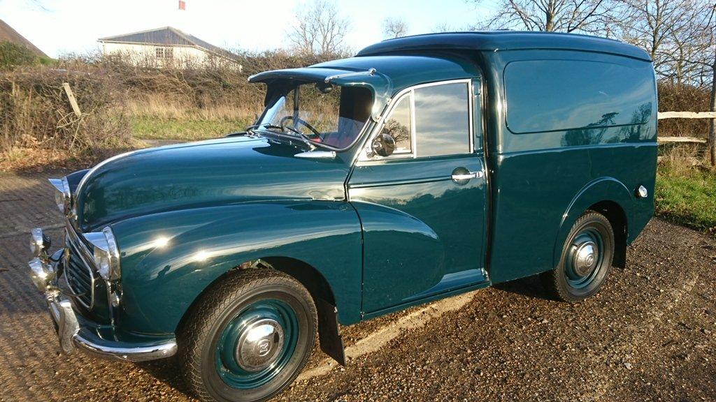 1958 Morris Minor Van For Sale (picture 1 of 6)