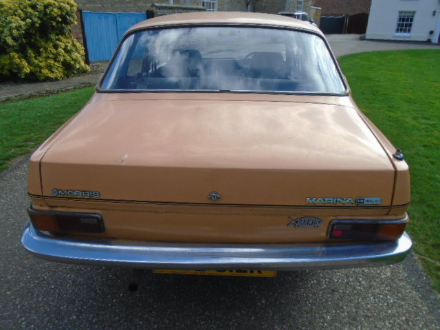 1977 Morris Marina 1.3 deluxe.  For Sale (picture 6 of 6)