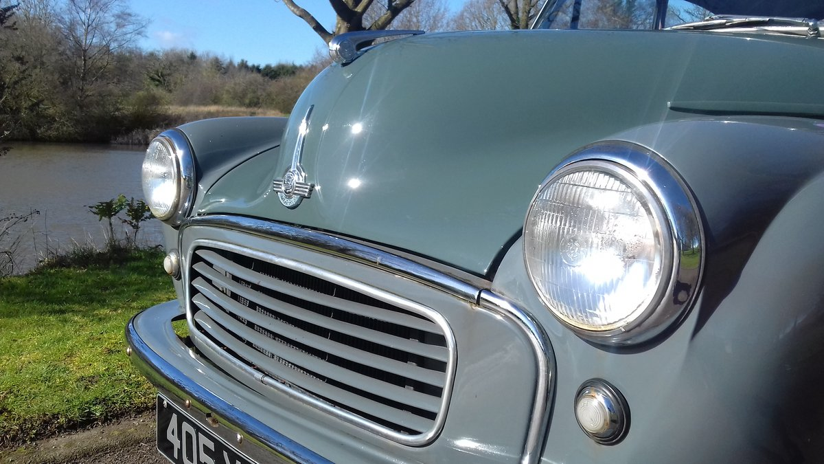 1956 MORRIS MINOR 'FLORENCE' 2DR SALOON ~ HONEST EARLY MOGGY SOLD (picture 1 of 6)