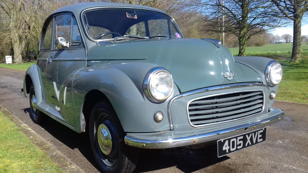 1956 MORRIS MINOR 'FLORENCE' 2DR SALOON ~ HONEST EARLY MOGGY SOLD (picture 3 of 6)