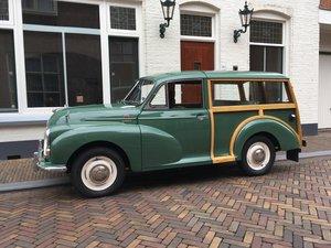 1968 MORRIS MINOR 1000 TRAVELLER For Sale