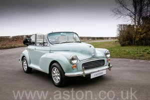 1969 Morris Minor 1000 Convertible For Sale