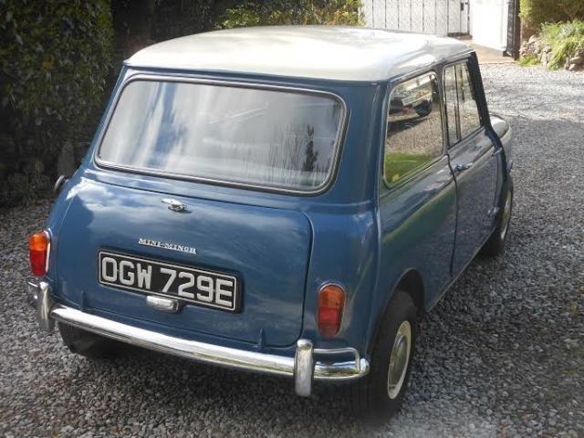 1967 Morris Mini Minor For Sale (picture 2 of 6)