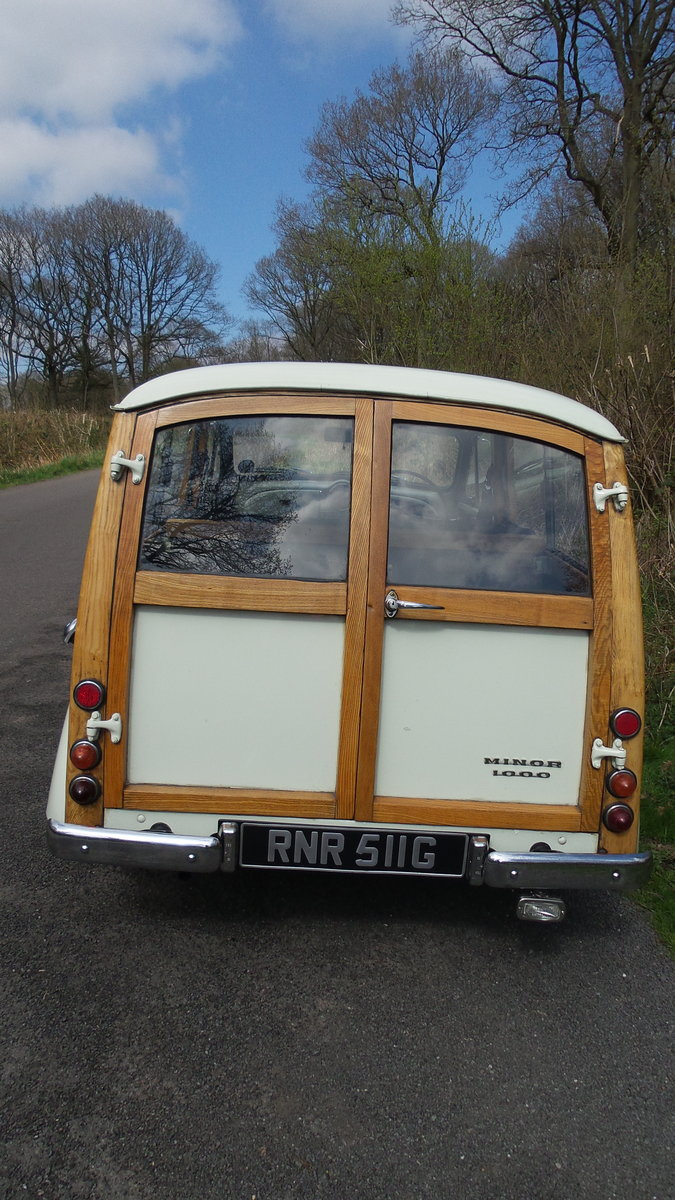 1969 Morris minor traveller For Sale (picture 2 of 6)