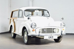 MORRIS MINOR TRAVELLER 1000 WHITE 1970 ESTATE  SOLD