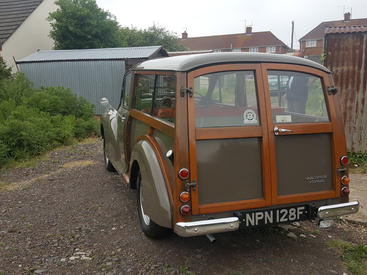 1968 Morris traveller show ready For Sale (picture 5 of 6)