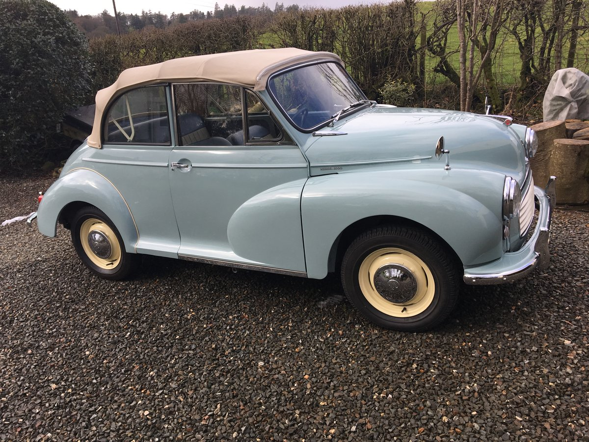 1963 Genuine Morris Minor Convertable SOLD (picture 1 of 5)