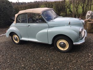 1963 Genuine Morris Minor Convertable For Sale