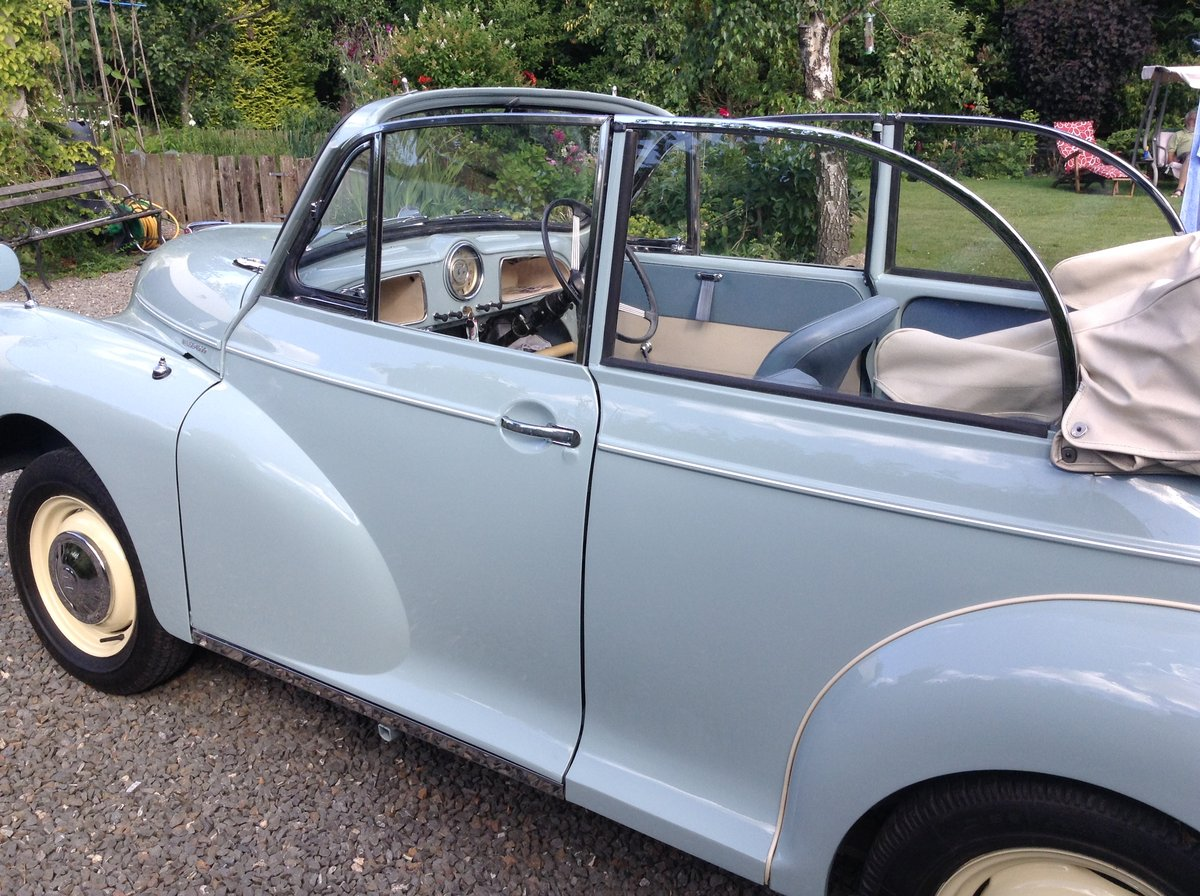 1963 Genuine Morris Minor Convertable SOLD (picture 2 of 5)