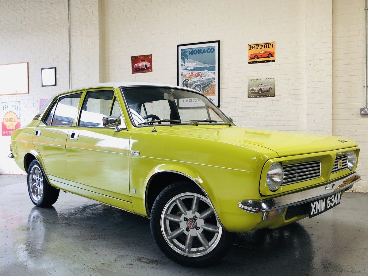 1972 MORRIS MARINA 1.8 DL SUPER - IN SUPER CONDITION!! SOLD (picture 1 of 6)