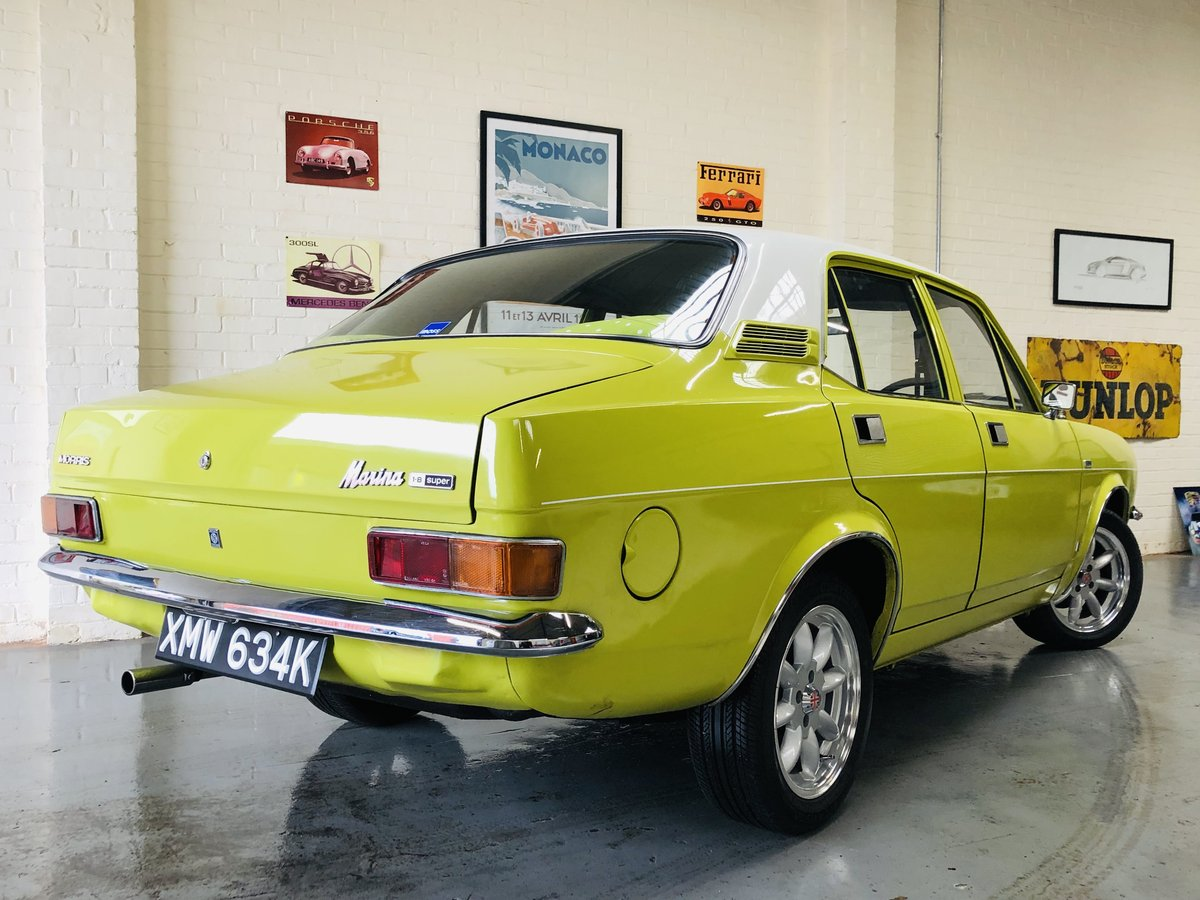1972 MORRIS MARINA 1.8 DL SUPER - IN SUPER CONDITION!! SOLD (picture 2 of 6)