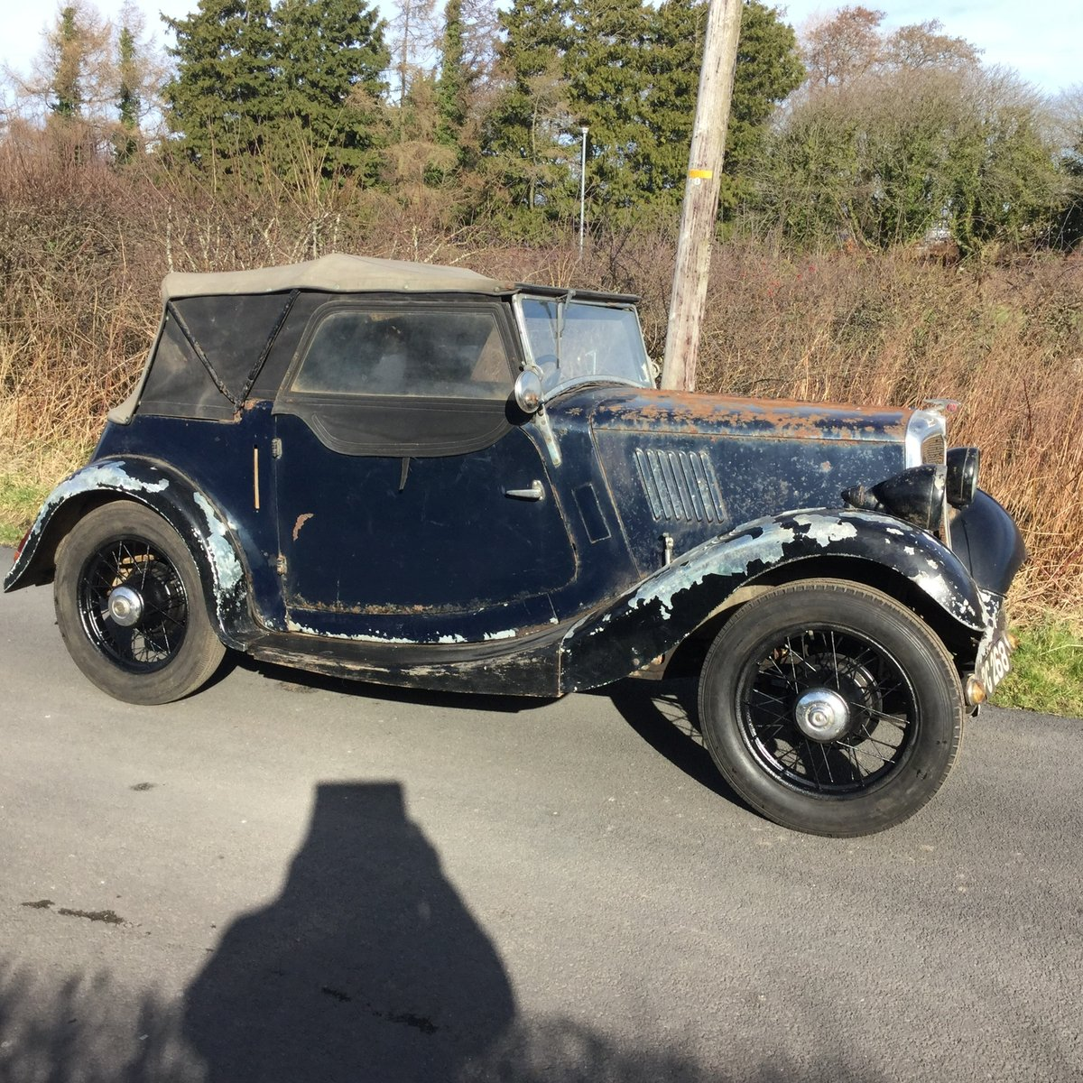 1937 Morris 8 sports For Sale (picture 1 of 6)