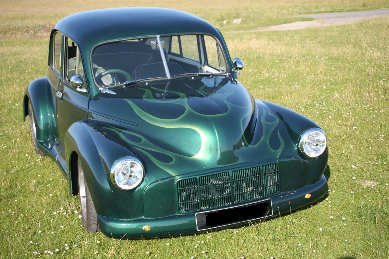 1956 Morris Minor Hot Rod For Sale   Car And Classic
