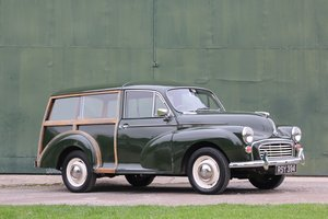 1964 MORRIS MINOR TRAVELLER 1000 SOLD