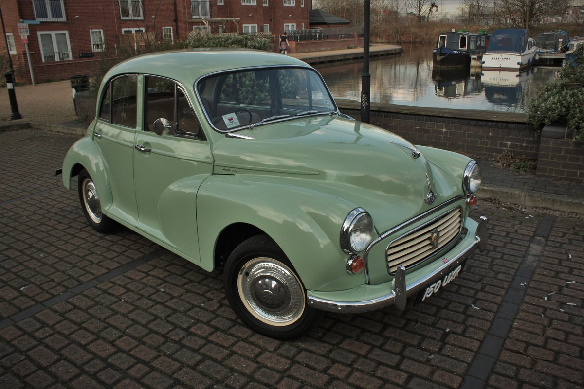 1961 Morris Minor 948cc - Porcelain Green - Unmolested example! SOLD (picture 1 of 6)