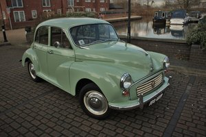 1961 Morris Minor 948cc - Porcelain Green - Unmolested example! SOLD