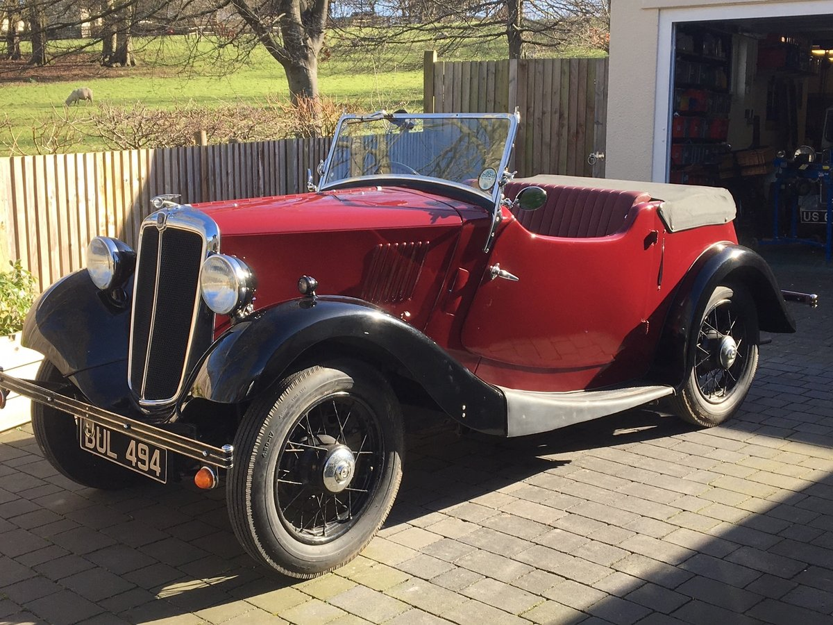 1935 Morris Eight Pre-series 2 seat tourer -totally restored SOLD (picture 1 of 11)