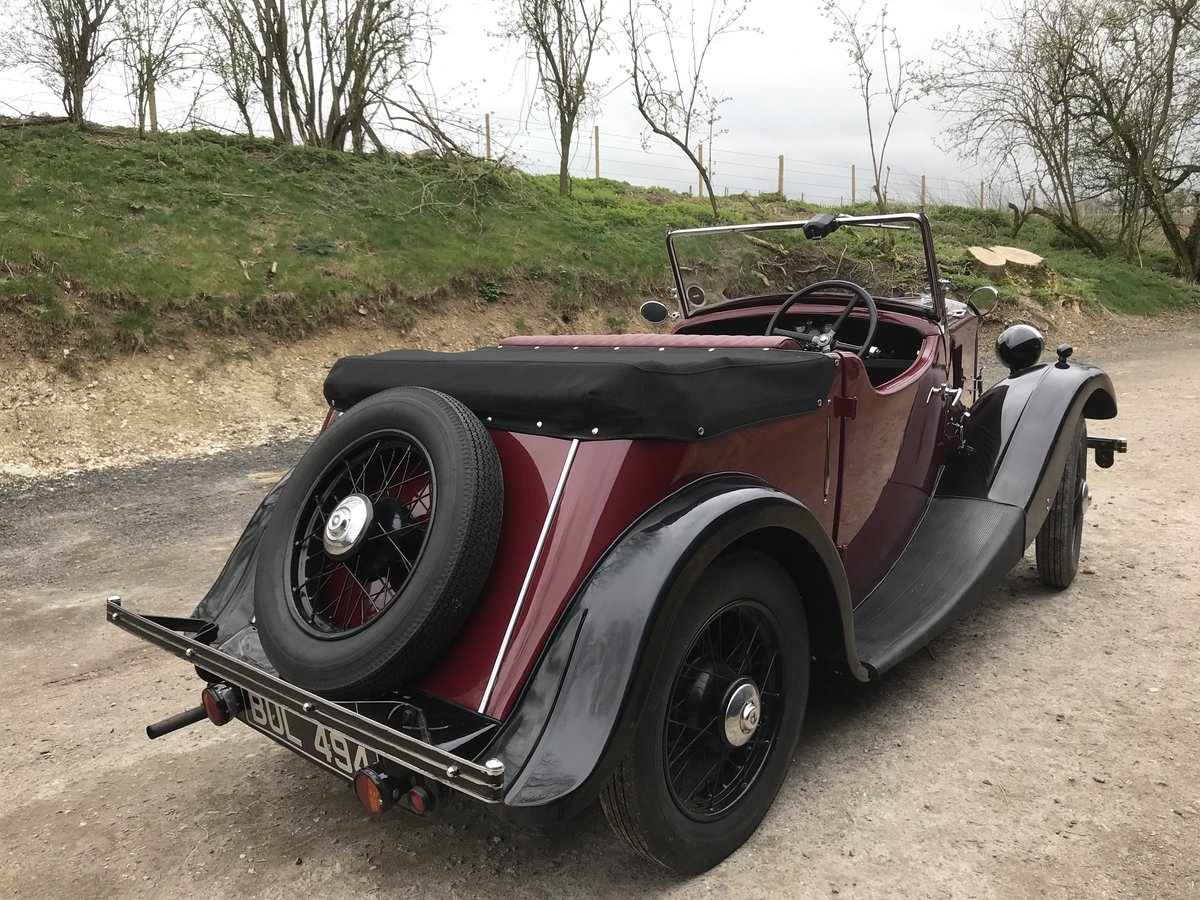 1935 Morris Eight Pre-series 2 seat tourer -totally restored SOLD (picture 4 of 11)